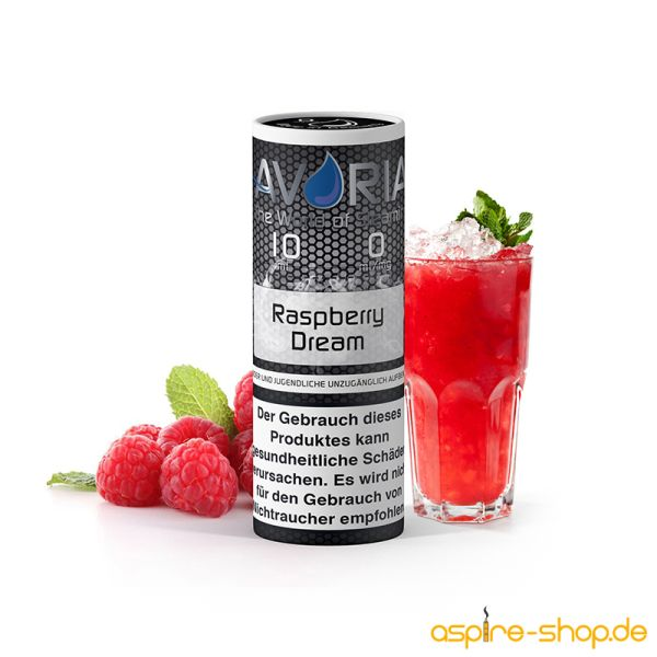 Liquid Raspberry Dream AVORIA 10ml für E-Zigarette