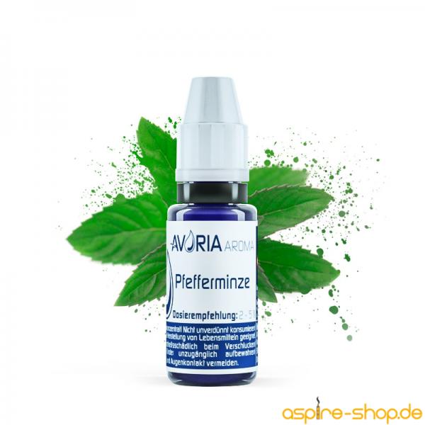 Aroma Pfefferminze 12ml von Avoria für E-Zigaretten