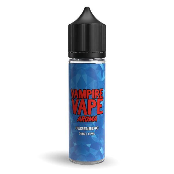 Das bekannte Heisenberg Aroma nun auch als Longfill von VampireVape in einer 60ml Flasche für E-Zigaretten. Anis mit Menthol, Johannisbeeren und Blaubeeren
