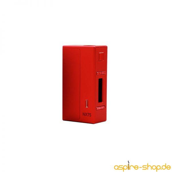 """Akkuträger NX75-Z rot von Aspire - 75 Watt - 0,86"""" OLED-Bildschirm - wechselbare 18650er Akkuzelle - Zinkgehäuse - Top Auswahl - jetzt schnell online bestellen"""