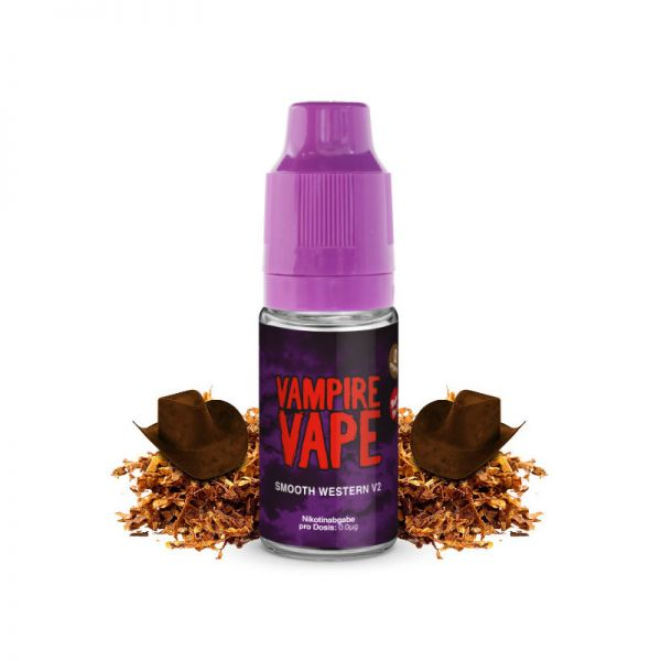 Liquid Smooth Western v2 Vampire Vape 10ml für E-Zigarette