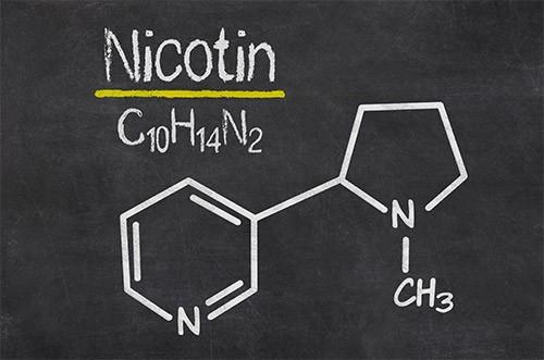 Nikotin-Tafel