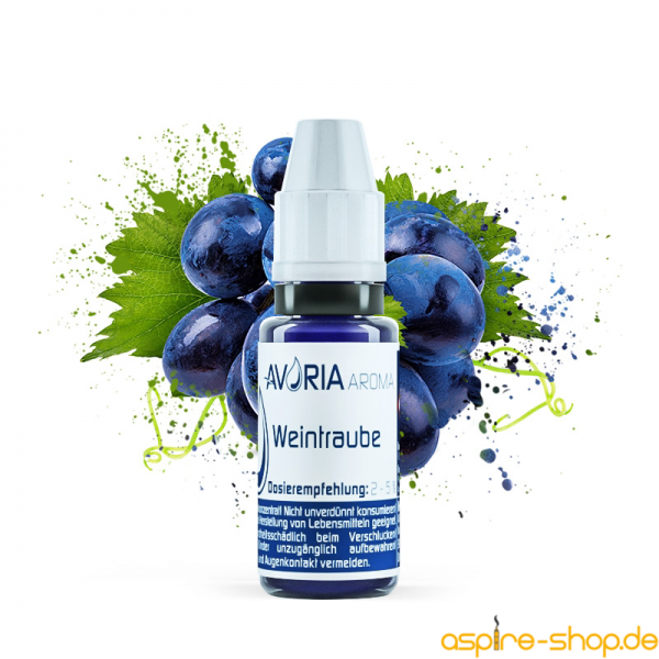 Aroma Weintraube 12ml von Avoria für E-Zigaretten