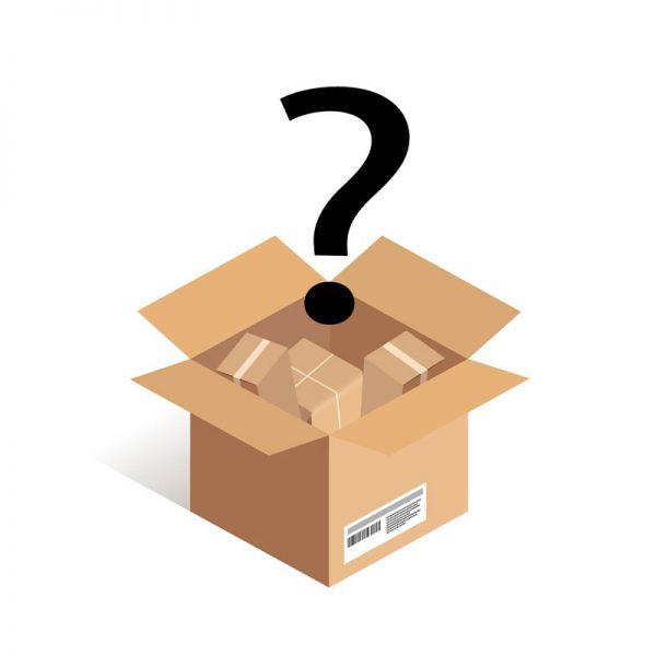 Günstige Mystery Box mit einer Ezigarette und 5 Liquids (Dabei kann es sich um Aromen, Longfills oder Fertigliquids handeln) Zufällige Nikotinstärke