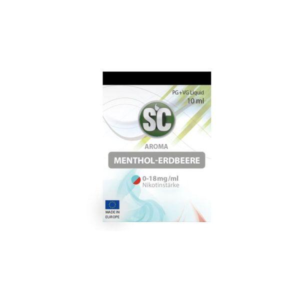 Liquid Menthol-Erdbeere SC 10ml für E-Zigarette