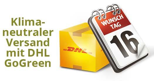 DHL Pakelt klimaneutral